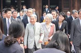 Nhà vua và Hoàng hậu Nhật Bản giao lưu cùng cựu học sinh Việt Nam