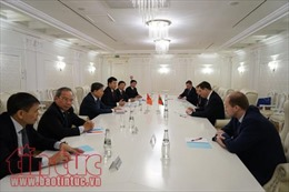 Đoàn Bộ Công an Việt Nam làm việc tại Belarus