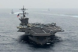 Thông điệp từ việc Mỹ lần đầu cử tàu sân bay Hạm đội 3 tuần tra Biển Đông