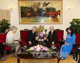 Tổng Bí thư hội kiến thân mật Nhà vua và Hoàng hậu Nhật Bản
