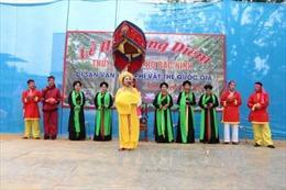 Tìm về nơi huyền tích lễ hội Thủy tổ Quan họ