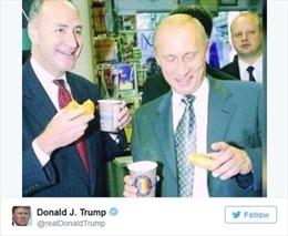 Nội các dồn dập bị tố dính líu tới Nga, ông Trump đăng ảnh thâm thúy