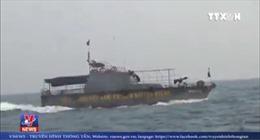 Phóng thích tàu cá Trung Quốc xâm phạm vùng biển Việt Nam