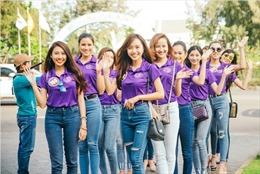 Thí sinh Hoa khôi du lịch Việt Nam 2017 sẵn sàng cho đêm chung kết