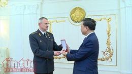 Bộ trưởng Tô Lâm dự Lễ kỷ niệm 100 năm thành lập Cảnh sát Belarus