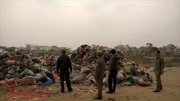 Công ty đổ rác thải sinh hoạt giữa Thủ đô có thể bị cắt hợp đồng thu gom rác