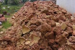 Xử lý nghiêm việc lợi dụng san mặt bằng khai thác đất sét trái phép
