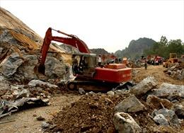 """Vĩnh Phúc: Nhiều núi đồi """"biến mất"""" vì nạn khai thác đất đá"""
