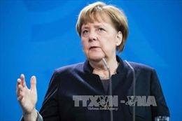 Đảng của Thủ tướng Merkel tạm dẫn đầu bầu cử Đức