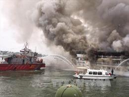 Tăng cường đảm bảo an toàn sau vụ cháy ca nô du lịch trên vịnh Nha Trang
