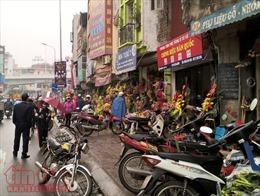 Các quận Hà Nội đồng loạt triển khai giải tỏa lấn chiếm vỉa hè