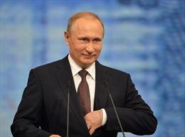 Tổng thống Nga Putin đọc thơ chúc mừng ngày 8/3