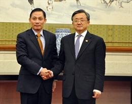 Gặp gỡ thường niên Thứ trưởng Ngoại giao Việt Nam - Trung Quốc