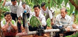 Tiết kiệm một nửa lượng nước tưới cho cây cà phê Tây Nguyên