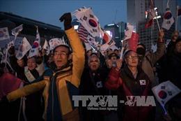 Thêm người biểu tình ủng hộ bà Park Geun-hye thiệt mạng