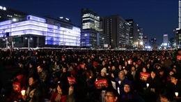 Biểu tình rầm rộ tại Seoul sau phán quyết phế truất bà Park Geun-hye