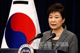 Tối 12/3 bà Park Geun-hye rời phủ tổng thống Hàn Quốc
