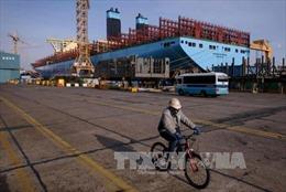 Khan đơn hàng, tập đoàn đóng tàu Daewoo lâm khó khăn tài chính
