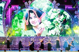 Trần Thị Phương Anh đăng quang  'Người đẹp Hoa Ban'