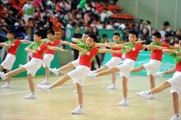 Hội thi đồng diễn thể dục cấp học sinh Tiểu học
