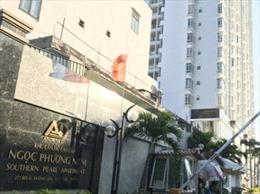 Nguy cơ mất an toàn cho cư dân tại chung cư Viên Ngọc Phương Nam