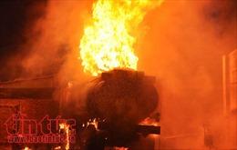 Bốn người bị thương do bình khí hàn phát nổ
