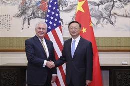 Ủy viên Quốc vụ Trung Quốc tiếp Ngoại trưởng Mỹ
