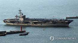 Tàu sân bay USS Carl Vinson tham gia tập trận hải quân Hàn – Mỹ