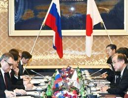 Nhật-Nga đối thoại '2+2' về tranh chấp lãnh thổ