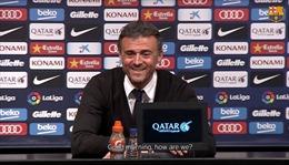 Dở khóc dở cười: Họp báo với Luis Enrique sau trận đấu của Barca, nhà báo ngủ gật