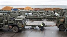 Xe quân sự NATO đổ về Estonia rầm rộ nhất từ thời Chiến tranh Lạnh