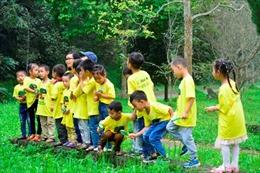 Cơ hội tìm hiểu thiên nhiên của 1.158 học sinh mầm non