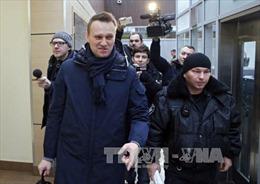 Cảnh sát Nga bắt thủ lĩnh đối lập Alexei Navalny