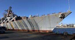 Ukraine 'bán sắt vụn' tàu tuần dương để trả nợ lương công nhân