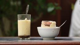 Đặc sản cà phê trứng của Hà Nội lên sóng CNN