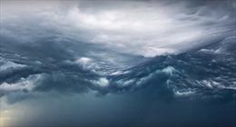 Lạnh người xem  'đám mây ngày tận thế' vần vũ trên bầu trời