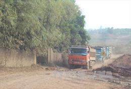 Khẩn trương xử lý tình trạng sụt lún ở khu vực khai thác khoáng sản Cây Thị - Trại Cau