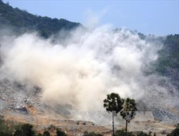 Điều tra vụ nổ mìn phá đá gây chết người trên núi Bà Đen