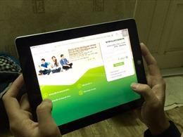 Vietcombank ra mắt dịch vụ ngân hàng trên điện thoại di động phiên bản mới