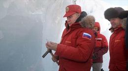 Tổng thống Putin khẳng định Bắc Cực không tiềm ẩn nguy cơ xung đột