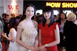 Xuân Bắc cười tít mắt bên cạnh Hoa hậu biển Thuỳ Trang