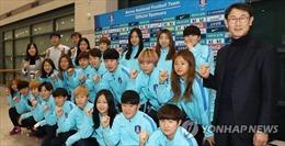 Đội bóng đá nữ Hàn Quốc tới Triều Tiên tham dự Asian Cup 2018