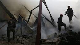 Máy bay Syria phá hủy kho vũ khí hóa học của phiến quân