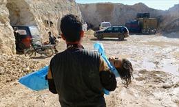 Các nước hối LHQ điều tra vụ tấn công vũ khí hóa học ở Syria