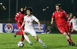 Trút mưa bàn thắng, tuyển nữ Việt Nam dẫn đầu bảng