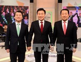 Bầu cử Tổng thống Hàn Quốc: Các ứng cử viên đẩy mạnh hoạt động thu hút cử tri