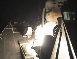 Video tên lửa Tomahawk lao vùn vụt nhắm đến lãnh thổ Syria