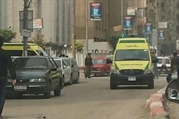 Đánh bom nhà thờ ở Ai Cập, ít nhất 50 người thương vong