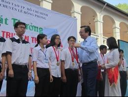 Đoàn TP Hồ Chí Minh dẫn đầu trong kỳ thi Olympic truyền thống 30/4
