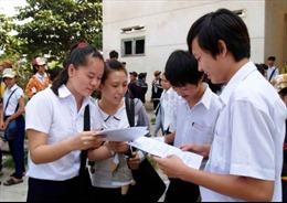 Điền thông tin cộng điểm vào phiếu đăng ký dự thi như thế nào
